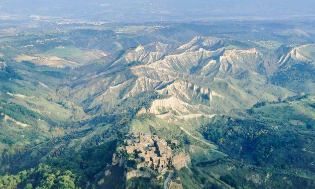 Calanchi e Valle del Tevere
