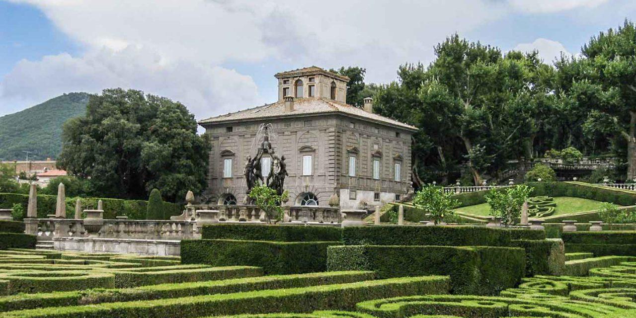 Villa lante di bagnaia residenza della seconda met del for Palazzi di una storia